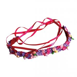JOYHAIR - Summer Roses Headband - pink