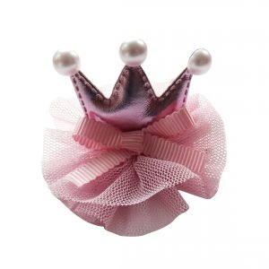 Instant Princess Hair Clip- pink