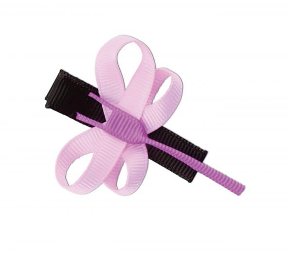 JOYHAIR Pink Butterfly Hair Clip: KIRA 1052-06
