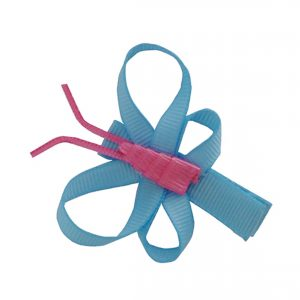 JOYHAIR Blue Butterfly Hair Clip: 1052-06