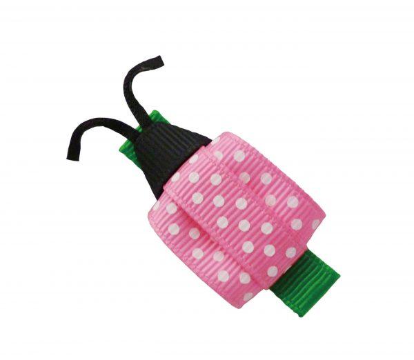 JOYHAIR Pink Ladybird Hair Clip:LILO 1052-06