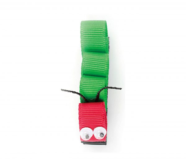 JOYHAIR Green Caterpillar Hair Clip: MOGLI 1052-06