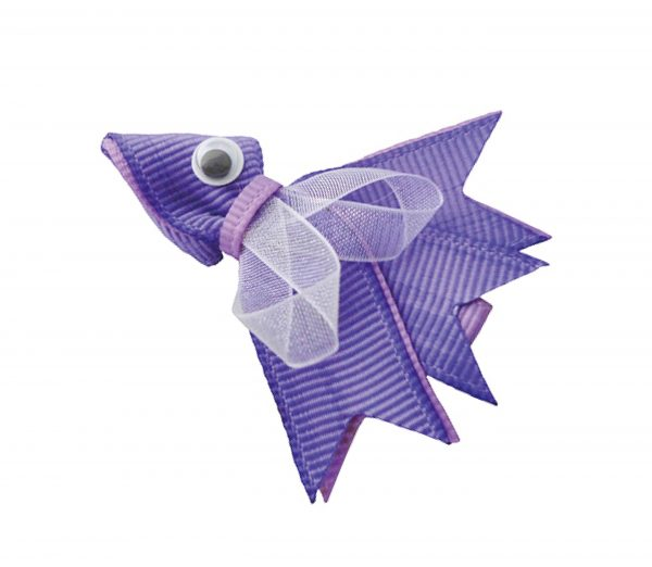 JOYHAIR Little Fishy Hair Clip: NANCY purple 1052-04