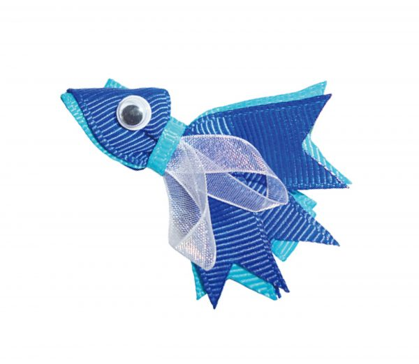 JOYHAIR Little Fishy Hair Clip: NANCY Blue 1052-06