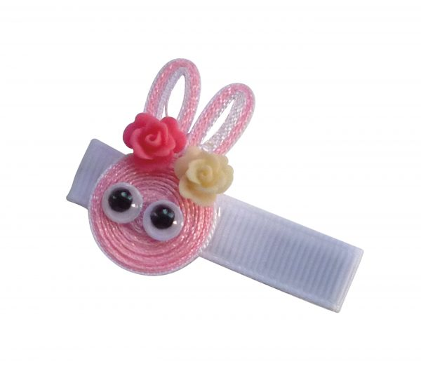 JOYHAIR Animal Friends Hair Clip WHITE 1052-06