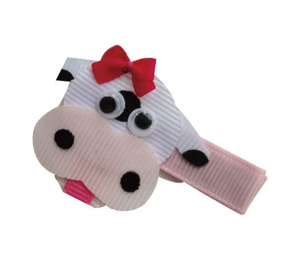 JOYHAIR Barnyard Fun Cow Hairclip- MOO 1044