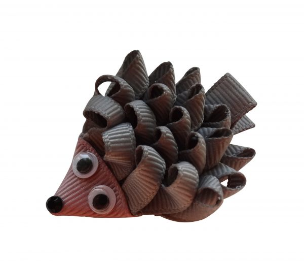 JOYHAIR Happy Hedgehog Hair Clip- braun 1047-08