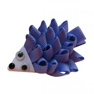 Joyhair Happy Hedgehog Hair Clip - iris color 1047-30