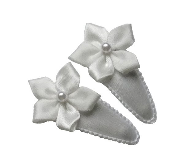 Joyhair Baby Hairclip weiß