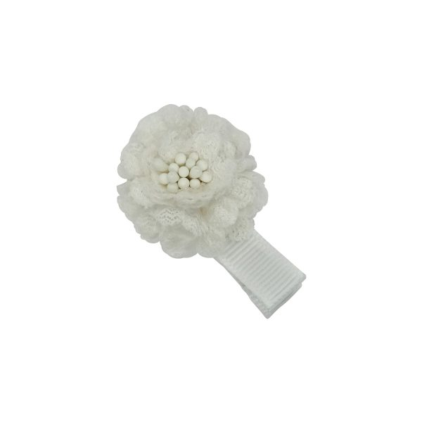 A wonderful Silk Flower.Pure Summer. Simple white or Silkshow ready for every outfit and every day